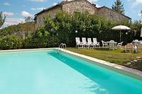Villa in Italy, Siena: pool