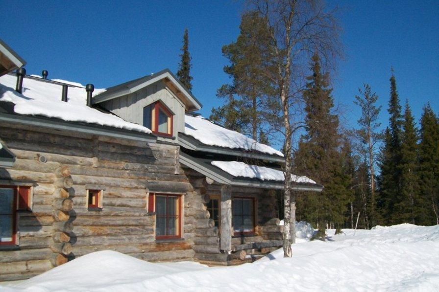 Log Cabin, Akaslompolo, Lapland