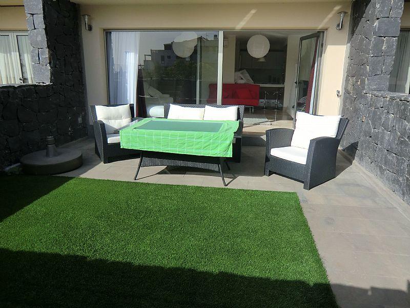 Villa in Spain, Amarilla Golf: Sunny and enclosed terrace