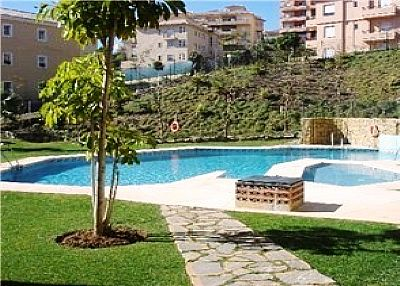 Apartment in Spain, Riviera del Sol: Pool area