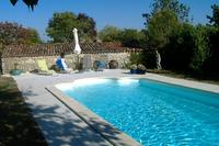 Gite in France, Aulnay: Pool