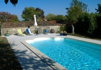 Gite in France, Coivert: Pool