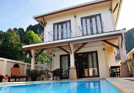 Baan Sankar House with Private Pool, Ao Nang Beach