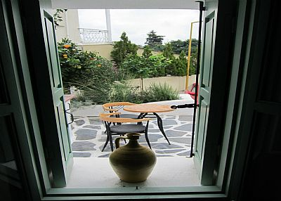 Lodge in Greece, Rhodes: view_window_rhodesvacationvilla