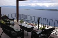 Villa in Turkey, Gundogan: View from the upstairs sitting lounge at Villa Maija