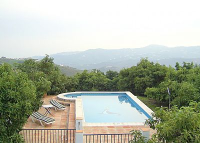 Villa in Spain, Puerto Blanquillo: pool views