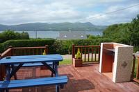 Cottage in Ireland, Kenmare: BBQ & Seating area outside the Cottage