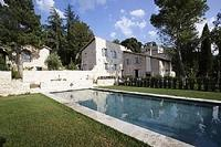 Country_house in Italy, Spoleto Area: The villa and the pool