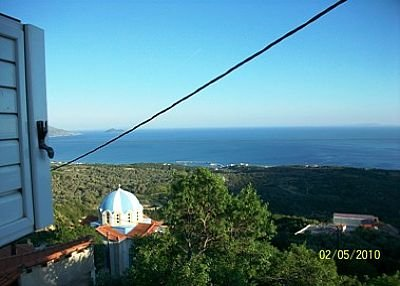 Country house in Greece, Samos: view