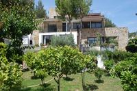 Villa in Spain, Sitges: front view