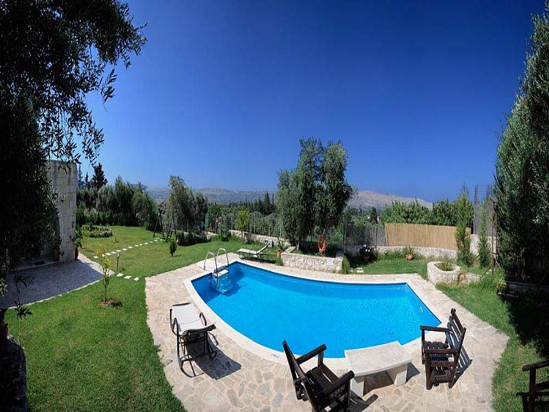 Villa in Greece, Apokoronas: Waterpool-Villa Aloni