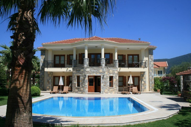 Villa to rent in dalyan turkey with private pool 7724 for Villas with pools