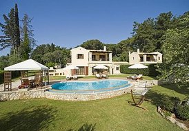 3 bedroom luxury villa in Corfu