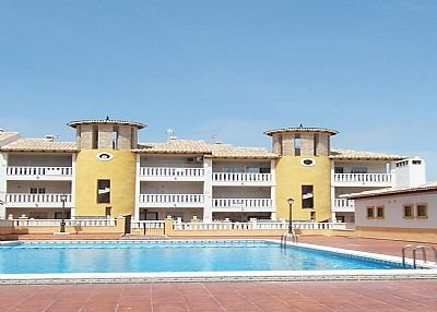 Amare 2 bed apartments. Sunny balcony overlooking the pool