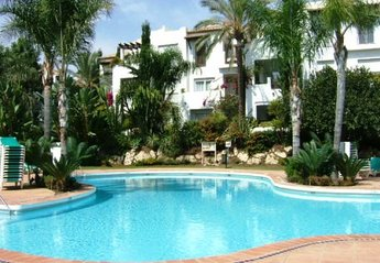 Apartment in Spain, Costalita: Lovely pool and garden area