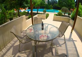 Hesperides Gardens #8 Poolside 3 Bedroom House Paphos Cyprus