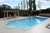 Farm_house in France, Aude: Heated 12m swimming pool