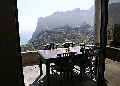 Country house in Portugal, Madeira: Terrace