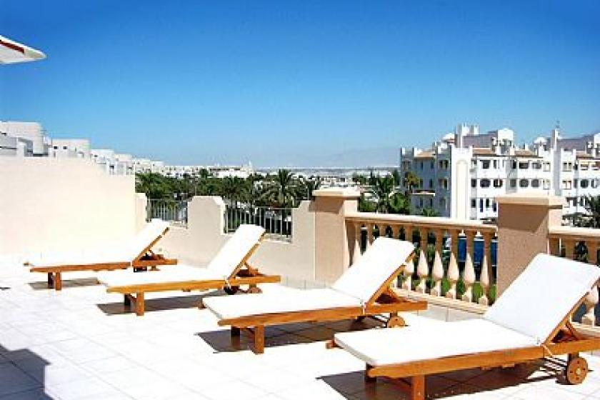 Apartment To Rent In Almerimar Spain With Pool 77466