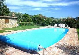 Stunningly restored villa with private pool in Cortona, Italy