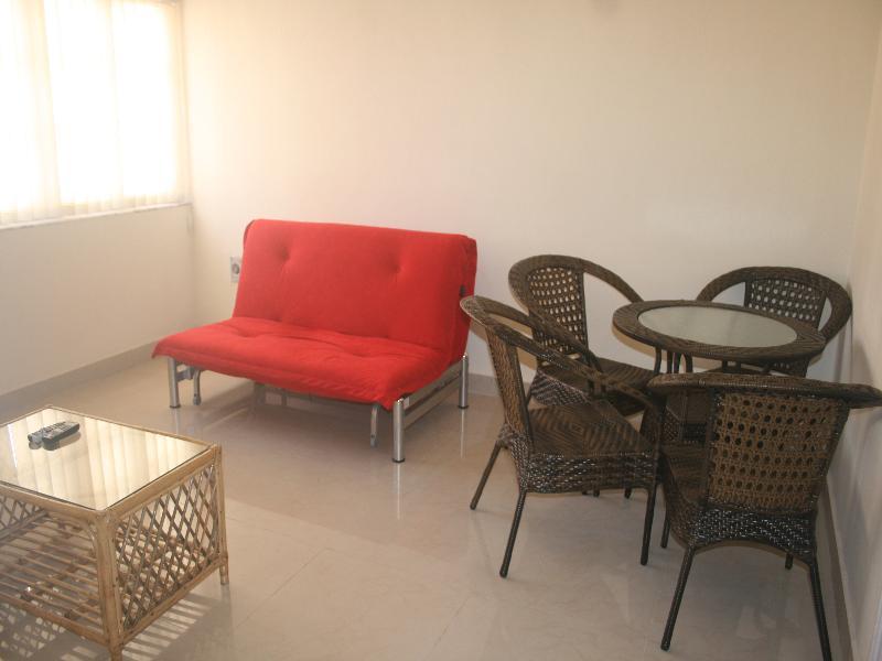 Apartment in India, Calangute: living room