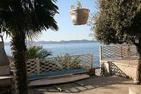 Apartment in Croatia, Diklo: Apartment is right by the Sea