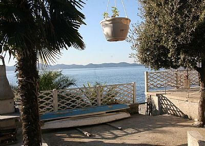 Apartment in Croatia, Zadar: Apartment is right by the Sea