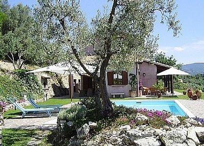 Villa in Italy, Torri in Sabina: Pool Area