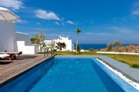 Villa in Greece, Vourvoulos: Livas Guesthouse - View from Private pool