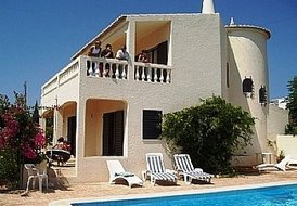 Villa with stunning sea views and private pool in Algarve, Portugal
