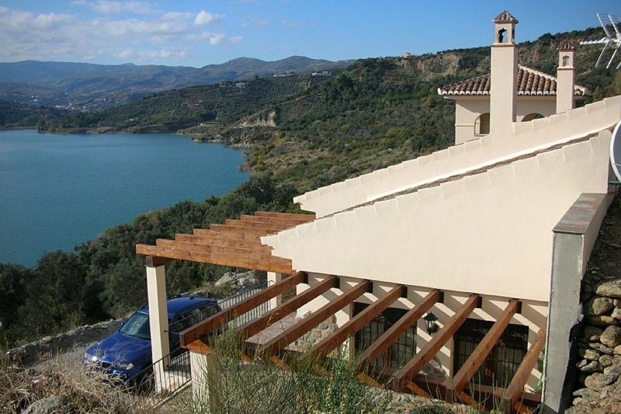 Country house in Spain, Lecrín: Peaceful and tranquil position with views