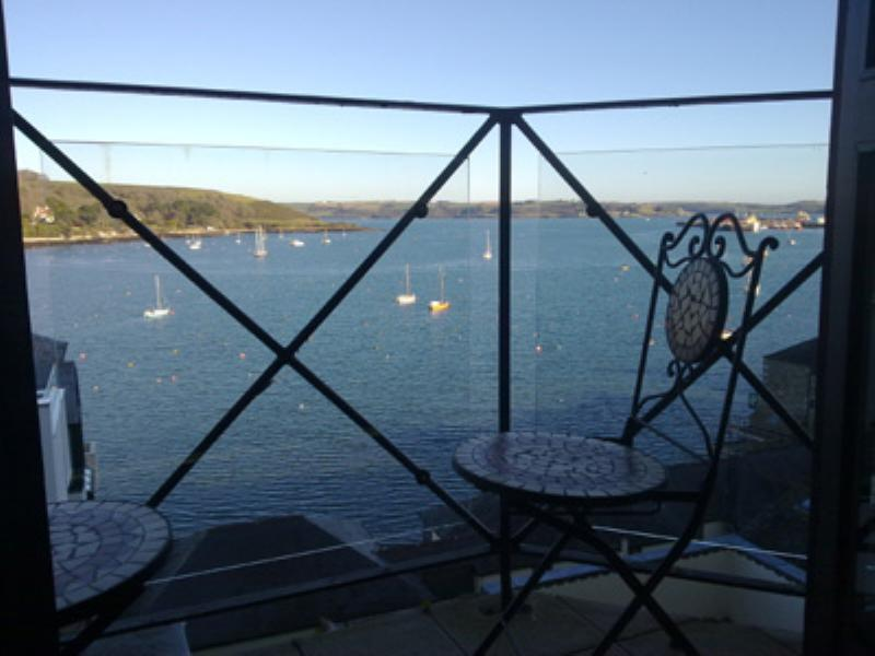 Apartment in United Kingdom, Falmouth: View from the balcony