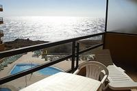 Apartment in Spain, Golf del Sur: Gorgeous views over the pool to the sea!