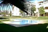 Apartment in Spain, Roda Golf and Beach Resort: Pool & Gardens just outside the apartment