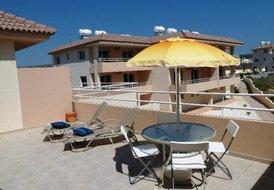 Apartment in Nissi Beach, Cyprus: Balcony