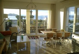 Apartment in Calis, Turkey: A4 Open plan living / kitchen with access to garden and beachfront. Gr..