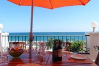 Penthouse_apartment in Spain, Burriana Beach: Dine Al Fresco looking out at Panoramic Sea Views