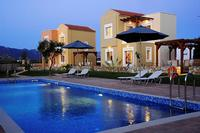 Villa in Greece, Akrotiri: Aloni Grove evening view
