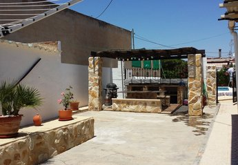Country House in Spain, Abanilla: Patio