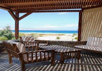 Villa in Greece, Sitia: Living room terrace, fantastic sea views