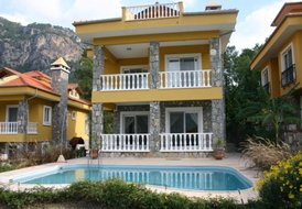 Villa Whiterock, with private swimming pool for 10 people, Mugla