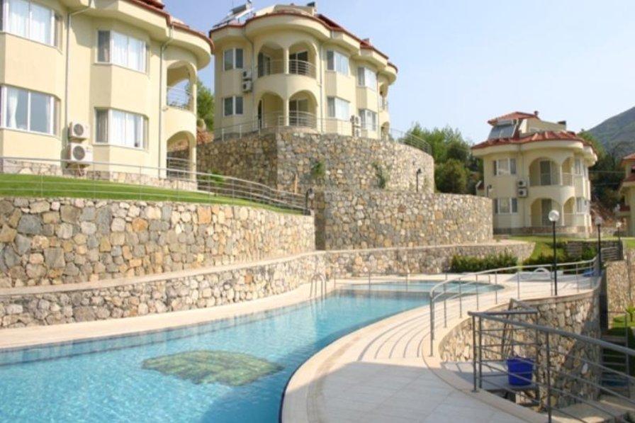 3 bedroom semi-detached villa, Akkaya, Dalaman, Mugla, Turkey
