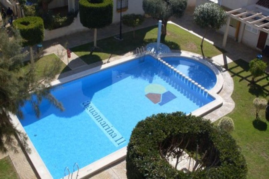 Apartment in Spain, Aguamarina: Communal pool view from terrace