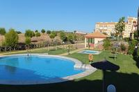 Apartment in Spain, Costa Esuri: Pool view (early morning)