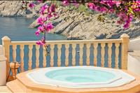 Villa in Spain, Ibiza: Infinity whirlpool ;-)