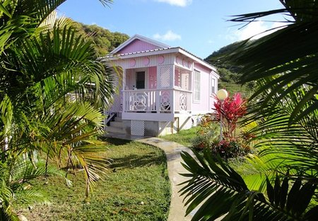 Cottage in Five Islands, Antigua and Barbuda: PINKSHACK STUDIO AFFORDABLE CARIBBEAN  RETREAT