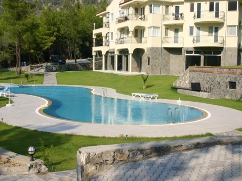 Apartment in Turkey, Dalaman: from the pool side