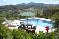 Villa in Spain, Malaga Area: Pool with a view