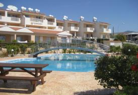2 bedroom townhouse peyia