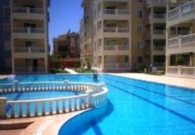 Stunning ground floor apartment in Aydim, Turkey